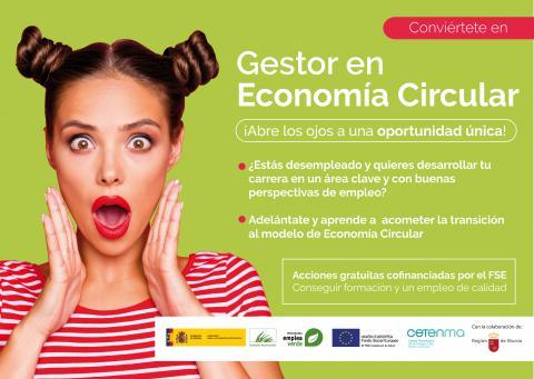 Logo Proyecto Formación Gestor en Economía Circular